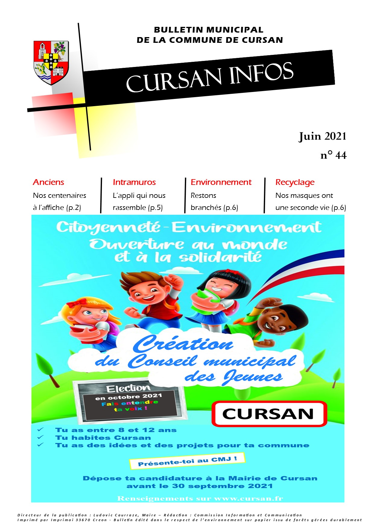 "Magazine ""Cursan Infos"" – Juin 2021"